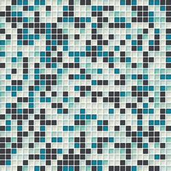 Cromie 10x10 Smeraldo M Mix 4 | Glass mosaics | Mosaico+