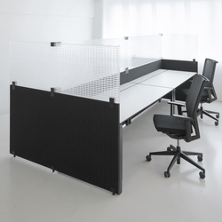 TP30 KNIT MESH Panel | Table dividers | Rosso