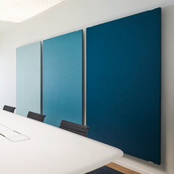 TP30 WOOL Panel | Sound absorbing wall systems | Rosso