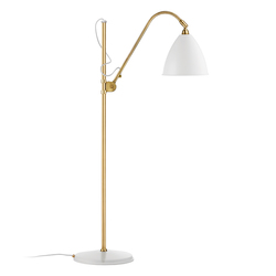 Bestlite BL3 M Floor lamp | Matt White/Brass | Iluminación general | GUBI