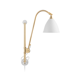 Bestlite BL5 Wall lamp | Matt White/Brass | Task lights | GUBI