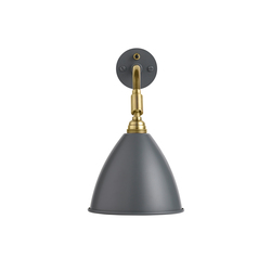 Bestlite BL7 Wall lamp HW | Grey/Brass | General lighting | GUBI