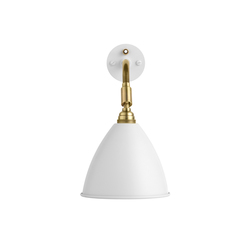 Bestlite BL7 Wall lamp HW | Matt White/Brass | General lighting | GUBI