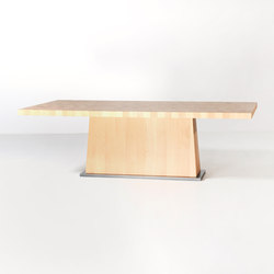 Kops dining table rectangular | Mesas comedor | Van Rossum