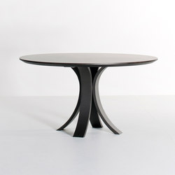 Kops slim dining table round | Dining tables | Van Rossum