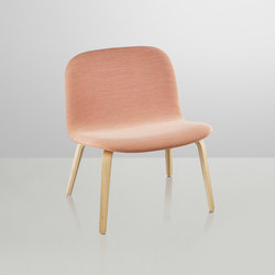 Visu Lounge | upholstered | Poltrone lounge | Muuto