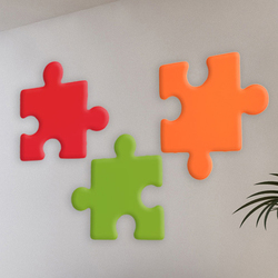 AGORAphil form element Puzzle | Pannelli per parete | AGORAphil