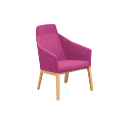 Parker II 4711/11 | Lounge chairs | Casala