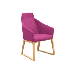Parker II 2712/11 | Visitors chairs / Side chairs | Casala