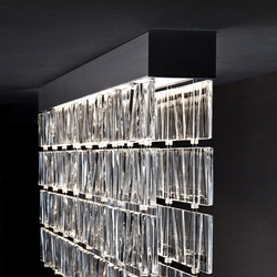 Tile D95 | Suspended lights | Fabbian