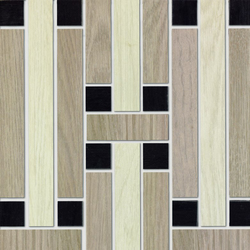 Treverk | Ceramic mosaics | Marazzi Group
