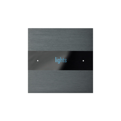 Deseo brushed dark grey | KNX-Systeme | Basalte