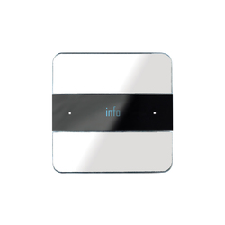 Deseo white glass | KNX-Systems | Basalte
