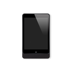 Eve Mini brushed black rounded | Estaciones smartphone / tablet | Basalte