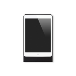 Eve Mini brushed black square | Estaciones smartphone / tablet | Basalte