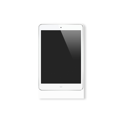 Eve Mini satin white square | Estaciones smartphone / tablet | Basalte