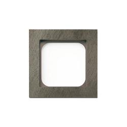 Frame classic 1-gang fer forgé | Socket outlets | Basalte