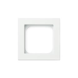 Frame 1-gang satin white | Socket outlets | Basalte