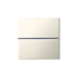 Sentido classic 2-way brushed nickel | KNX-Systems | Basalte