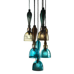 Stemmed Chandelier Seven Drop | General lighting | Curiousa&Curiousa
