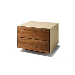 cubus pure night stand | Mesillas de noche | TEAM 7