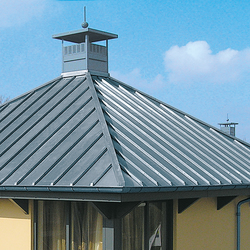 Roof covering | Click roll cap | Roofing systems | RHEINZINK