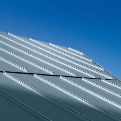 Roof covering | Angled standing seam | Roofing systems | RHEINZINK
