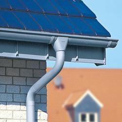 Roof drainage | Halfround gutter | Half-round gutters | RHEINZINK