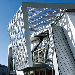 Architectural details | Balcony & canopy | Balconies / canopies | RHEINZINK