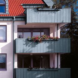 Architectural details | Balconies | Extension systems | RHEINZINK