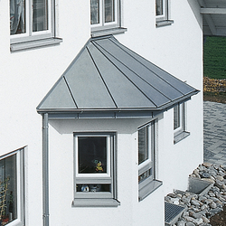 Architectural details | Canopy | Extension systems | RHEINZINK