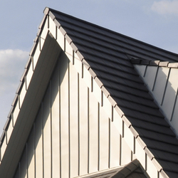 Architectural details | Gable cladding | Gable cladding | RHEINZINK