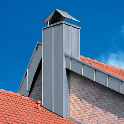 Architectural details | Chimney stacks | Chimney stacks | RHEINZINK