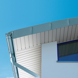 Architectural details | Roof edges & covers | Roof edges | RHEINZINK