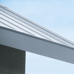 Architectural details | Roof edges & covers | Elementi di facciata | RHEINZINK