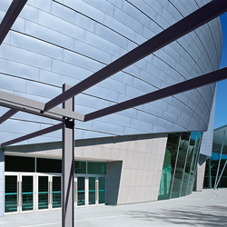 Seam systems | Angled standing seam | Facade constructions | RHEINZINK