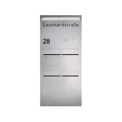RENZ PLAN S Türseitenteil-Montage | Boîtes aux lettres | Renz