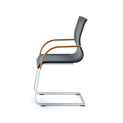 magnum strick-tex cantilever chair | Visitors chairs / Side chairs | TEAM 7