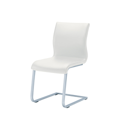 magnum leather cantilever chair | Visitors chairs / Side chairs | TEAM 7
