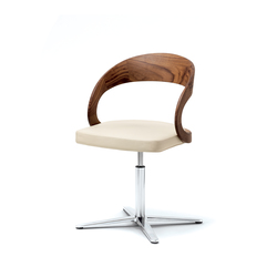 girado  chair with center leg | Chairs | TEAM 7