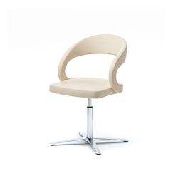 girado chair with center leg | Visitors chairs / Side chairs | TEAM 7