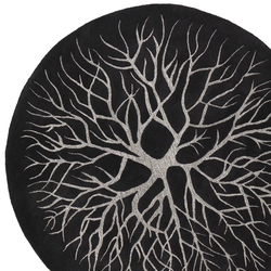 Birds Nest charcoal | Rugs | Kateha