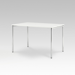 Usu table with tube legs | Tables polyvalentes | HOWE