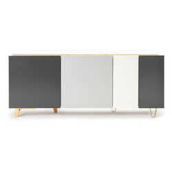 Starbuck | Sideboards / Kommoden | Supergrau