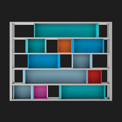 Composition 43 | Shelves | LAGRAMA