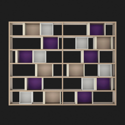 Composition 43 | Shelving systems | LAGRAMA