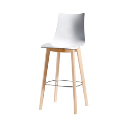 Natural Zebra Antishock stool | Taburetes de bar | Scab Design