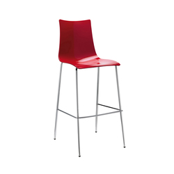 Zebra Antischock stool 4-legs frame | Bar stools | Scab Design
