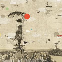 Sarah | Wandbilder / Kunst | Wall&decò