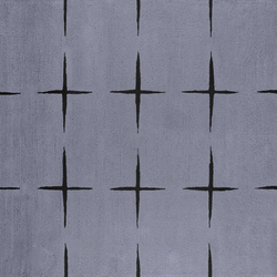 Stars light grey | Tapis / Tapis design | Kateha